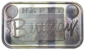 1 oz - Happy Birthday - Fine Silver Bar