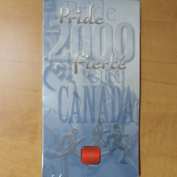 2000 - Canada - 25 cents - January, Pride, Colourised - UNC - 50% OFF!