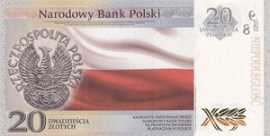 2018 - Poland - 20 Zlotych - Independence
