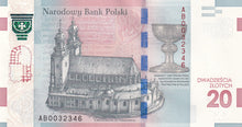 Load image into Gallery viewer, SOLD - 2015 - Poland - 20 Zlotych - 1050th Anniversary of the Baptism of Poland