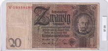 Load image into Gallery viewer, 1929 - Germany - 20 Reichsmark - Y 19558489