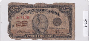 1923 - Canada - 25 Cents - McCavour / Saunders - 208129