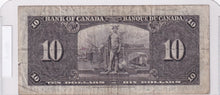 Load image into Gallery viewer, 1937 - Canada - 10 Dollars - B/T 2725768