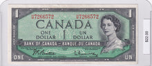 Load image into Gallery viewer, 1954 - Canada - 1 Dollar - Beattie / Rasminsky - H/M 7266572