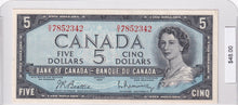 Load image into Gallery viewer, 1954 - Canada - 5 Dollars - O/X 7852342