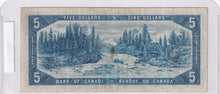 Load image into Gallery viewer, 1954 - Canada - Devil's Face - 5 Dollars - E/C 4938281
