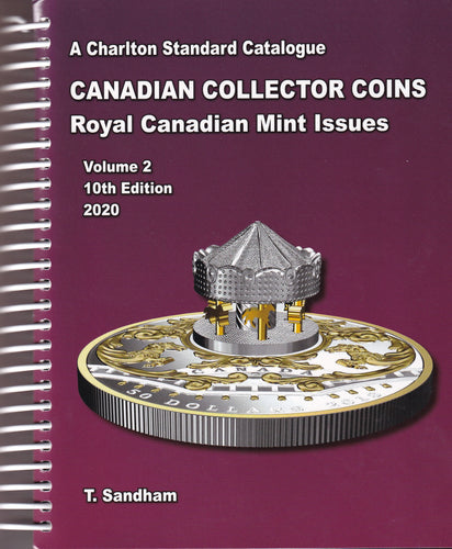 2020 Charlton Standard Catalogue for Canadian Coins - Vol. Two (10th Edition)