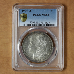 SOLD - 1904 O - USA - $1 - MS63 PCGS
