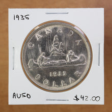 Load image into Gallery viewer, SOLD - 1935 - Canada - $1 - AU50 - retail $42