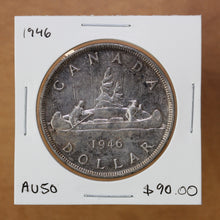 Load image into Gallery viewer, SOLD - 1946 - Canada - $1 - AU50 - retail $90