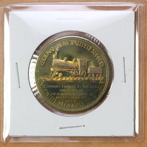 1980 - Sudbury - $2 Municipal Trade Token - UNC