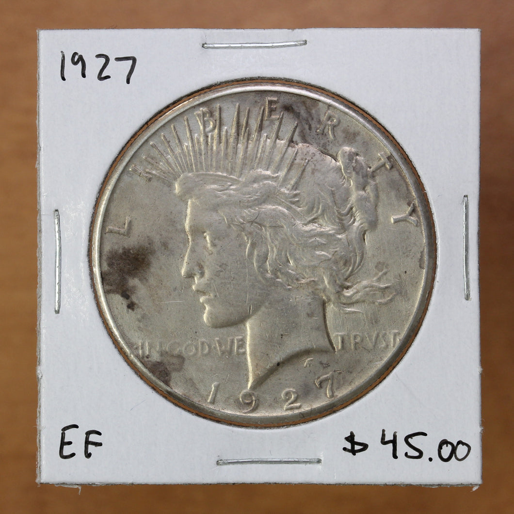 SOLD - 1927 - USA - $1 - EF40