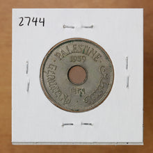 Load image into Gallery viewer, 1939 - Palestine - 10 Mils - UNC
