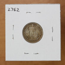 Load image into Gallery viewer, 1936 B - Switzerland - 1/2 Franc - UNC