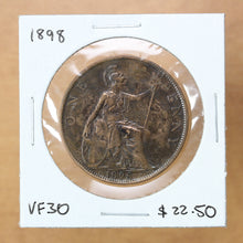 Load image into Gallery viewer, 1898 - Great Britain - 1 Penny - VF30