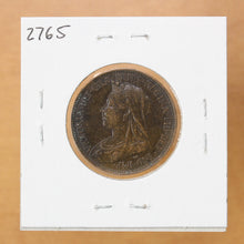 Load image into Gallery viewer, 1897 - Great Britain - 1/2 Penny - EF40