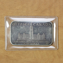 Load image into Gallery viewer, Ottawa, Canada - National Mint - Fine Silver - 1 oz. Bar
