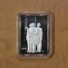 Load image into Gallery viewer, Rainout 1949 - The Hamilton Mint - Fine Silver - 1 oz. Bar