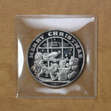 Load image into Gallery viewer, SOLD - Merry Christmas - Crown Mint - Fine Silver - 1 oz. Round