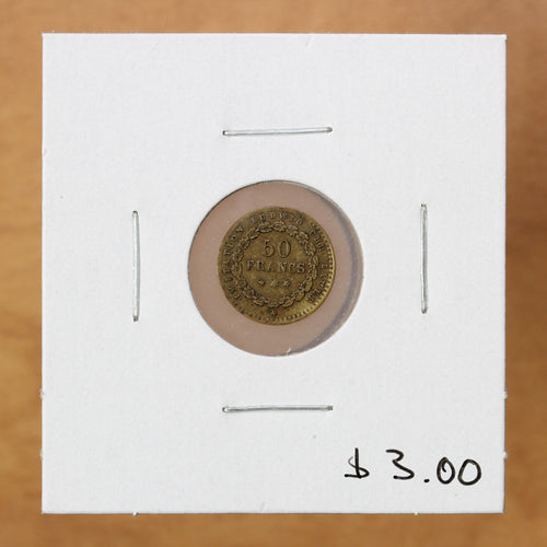 50 Francs - Game Token