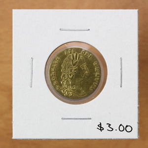 In Memory of the Good Old Days 1788 - Token