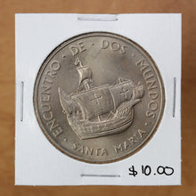 Load image into Gallery viewer, 1492-1992 - 500th Anniversary Santa Maria - Medal