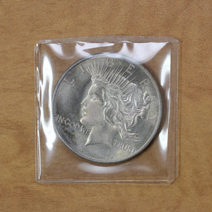SOLD - Peace Dollar Design - Fine Silver - 1 oz. Round