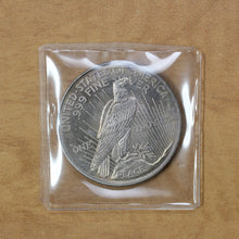 Load image into Gallery viewer, SOLD - Peace Dollar Design - Fine Silver - 1 oz. Round