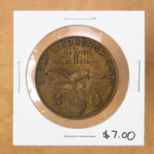 Load image into Gallery viewer, SOLD - Lucky Lindbergh Coin - Token