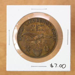 SOLD - Lucky Lindbergh Coin - Token