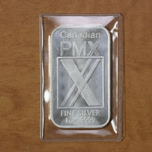 Load image into Gallery viewer, SOLD - Canadian PMX - Fine Silver - 1 oz. Bar