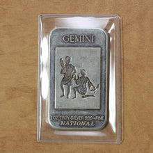 Load image into Gallery viewer, Gemini - National Mint - Fine Silver - 1 oz. Bar