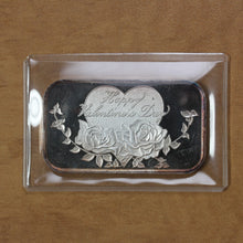 Load image into Gallery viewer, SOLD - Happy Valentine's Day - Fine Silver - 1 oz. Bar