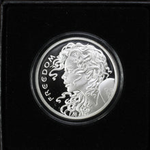Load image into Gallery viewer, SOLD - 2014 Freedom Girl - Pure Silver - 1 oz. Round - Proof