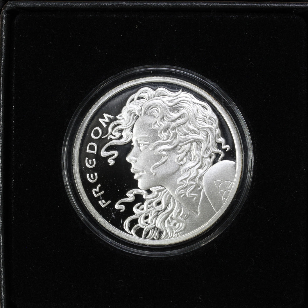 SOLD - 2014 Freedom Girl - Pure Silver - 1 oz. Round - Proof
