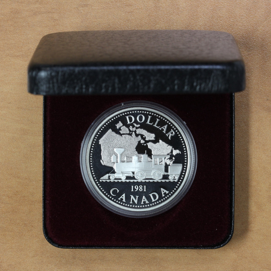 1981 - Canada - $1 - Proof