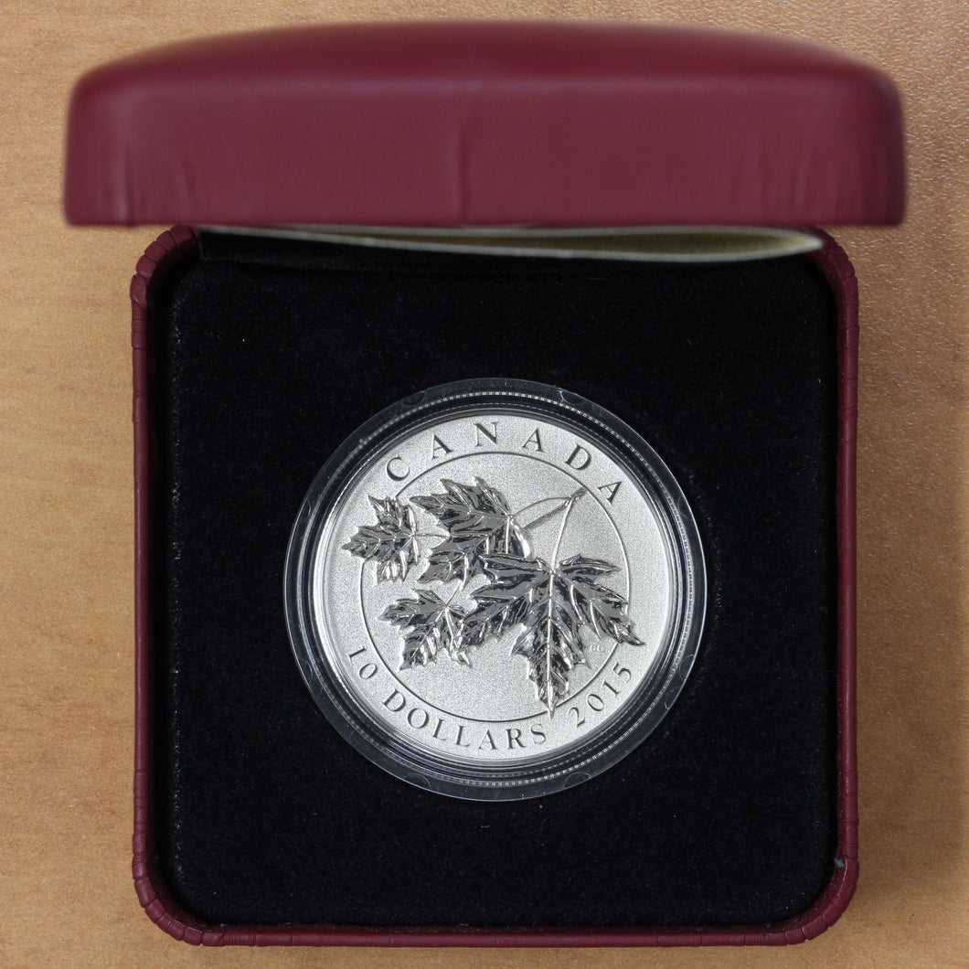 2015 - Canada - $10 - The Maple Leaf - Specimen
