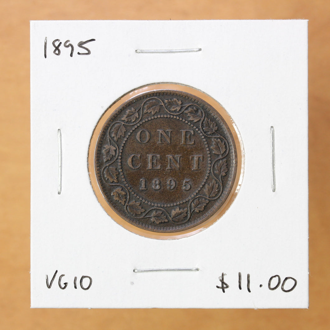SOLD - 1895 - Canada - 1c - VG10