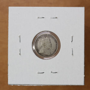 SOLD - 1908 - Canada - 5c - G4