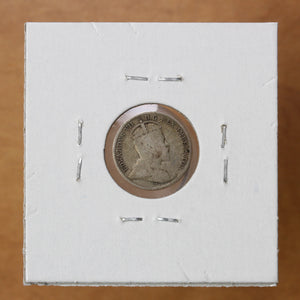 SOLD - 1910 - Canada - 5c - RoLeaves - G4