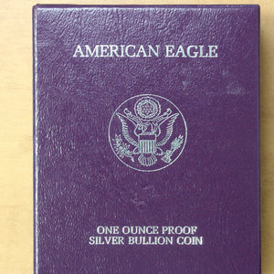 SOLD - 1987 S - USA - $1 - Silver Eagle - Proof