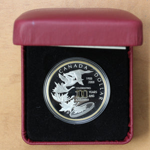 SOLD - (2008) - Canada - $1 - Royal Canadian Mint Centennial - 45% OFF!