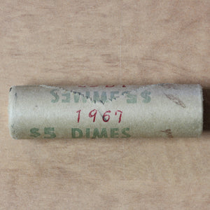 SOLD - 1967 - 10c - Original Roll (50pcs.)