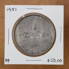 Load image into Gallery viewer, SOLD - 1951 - Canada - $1 - Pocket Piece