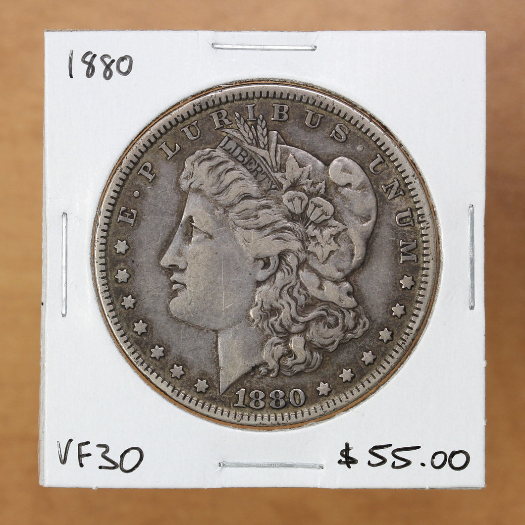 1880 - USA - $1 - VF30 - retail $55