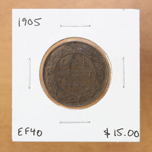 Load image into Gallery viewer, 1905 - Canada - 1c - EF40 - retail $15