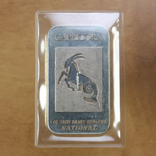 Load image into Gallery viewer, SOLD - Capricorn (Rev 3) - National Mint - Fine Silver - 1 oz. Bar