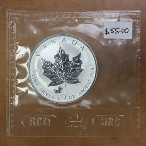 SOLD - 2002 - Canada - $5 - Year of the Horse Privy - Specimen - retail $55