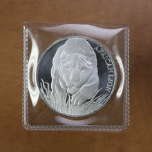 Load image into Gallery viewer, 2017 - Chad - 5000 Francs - African Lion - Fine Silver - 1 oz. Round