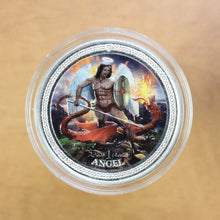Load image into Gallery viewer, SOLD - 2016 - Isle of Man - Angel (Coloured) - Fine Silver - 1 oz. Round